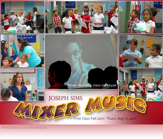 Mixer Sims Fall 2011 First Class